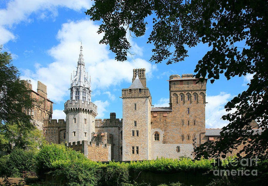 Cardiff Photograph - Cardiff Castle by Susan Wall