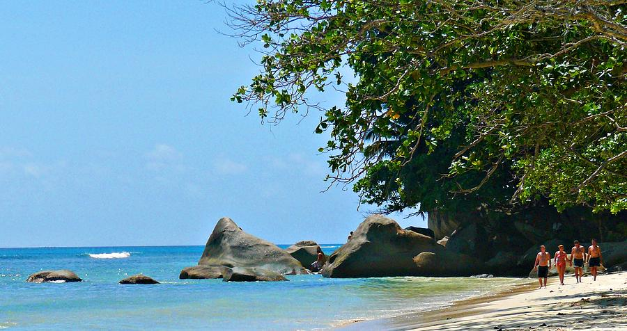 Caribe Photograph - Caribe Beach by Jenny Senra Pampin