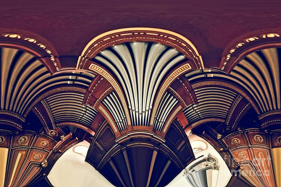 Brown Digital Art - Carillonais by Aimelle