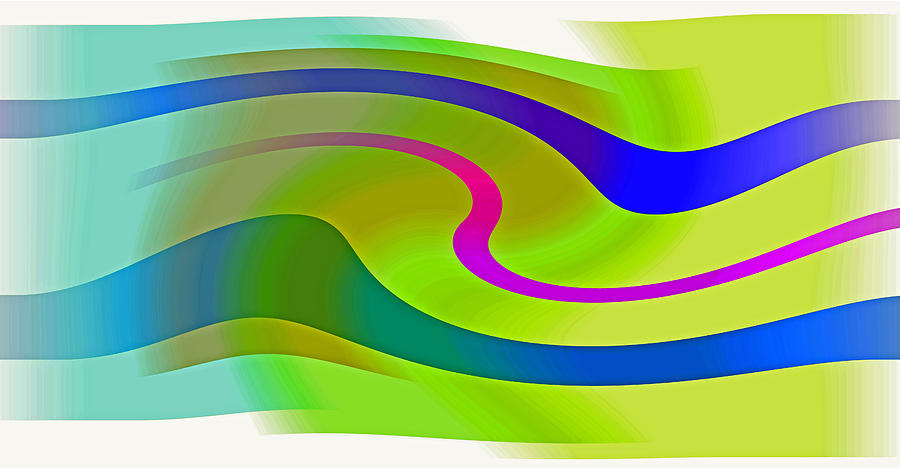 Abstract Expressionism Digital Art - Carioca by John Neumann