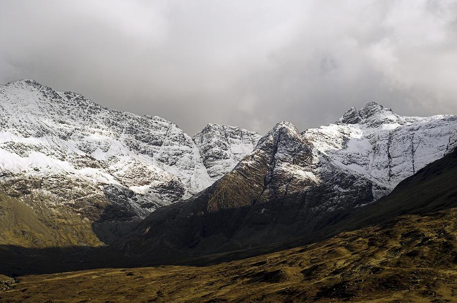 Mountain Photograph - Carn Coire Na Creiche Mountains by Duncan Shaw