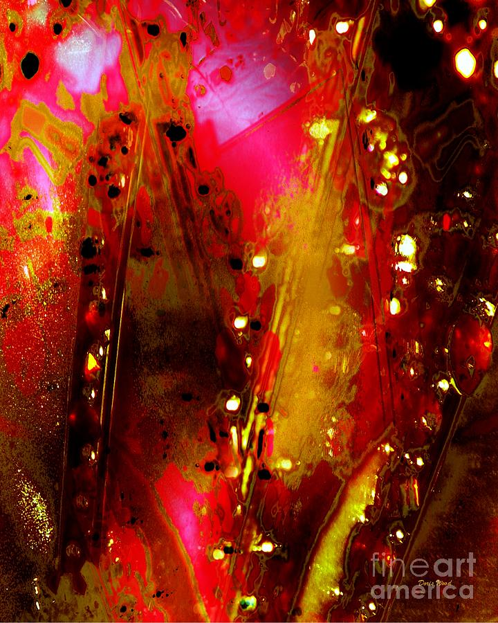 Abstract Digital Art - Carnival Lights by Doris Wood