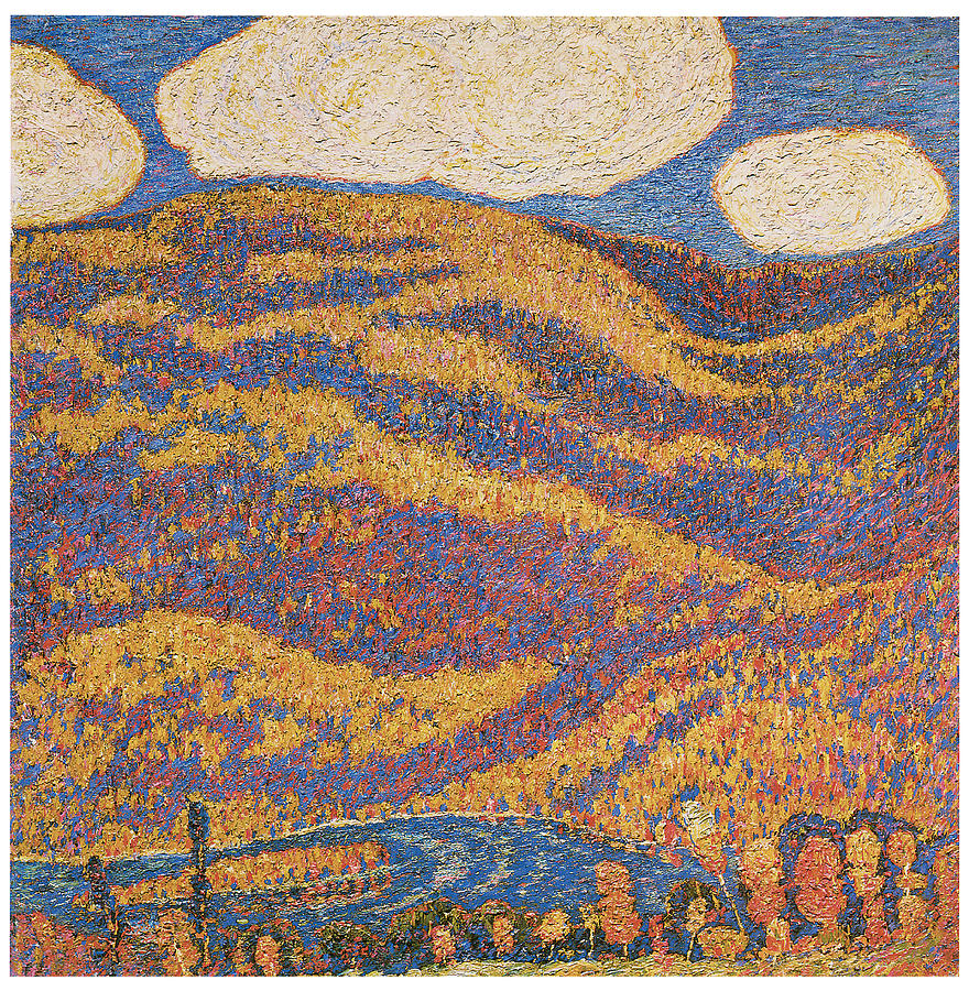 Hartley Painting - Carnival Of Autumn by Marsden Hartley