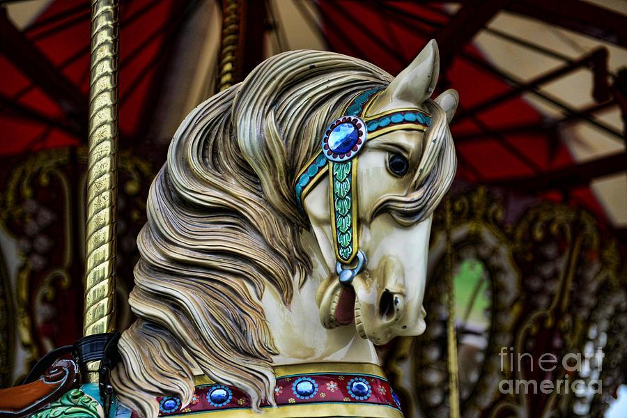 Carousel Photograph - Carousel Horse 3 by Paul Ward