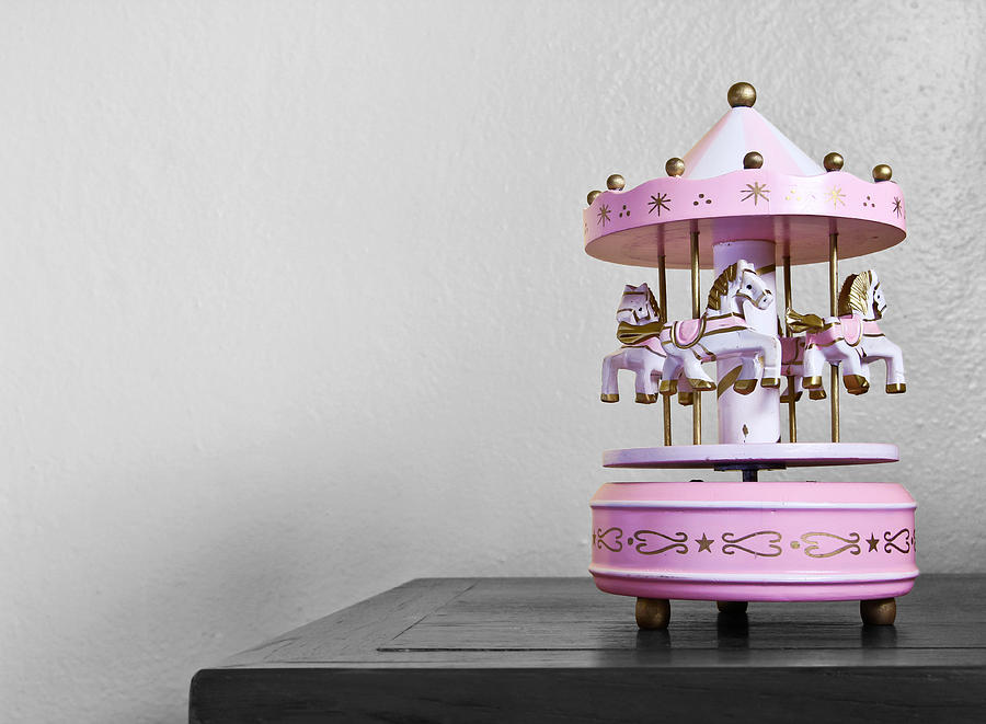Carousel Photograph - Carousel Toy  by Natee Srisuk