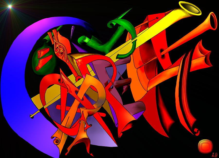 Carpe Diem Digital Art - Carpe Diem IIi by Helmut Rottler