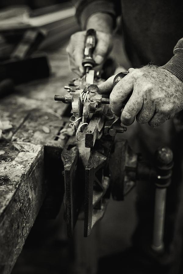 Carpenter Photograph - Carpenter L by Rob Travis
