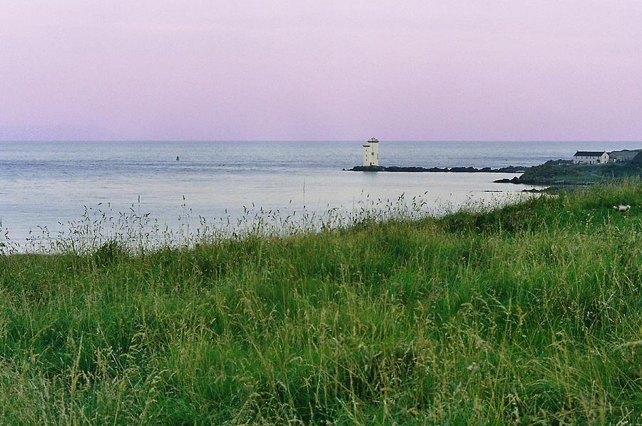 Sea Photograph - Carraig Fhada Lighthouse by Steve Watson