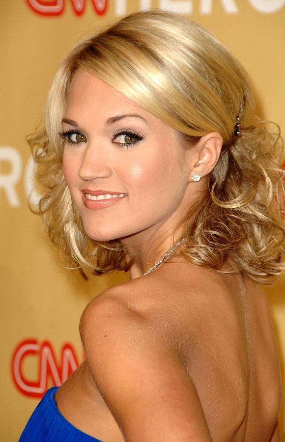 Carrie Underwood Photograph - Carrie Underwood In Attendance For Cnn by Everett