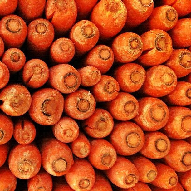 Orange Photograph - #carrots #orange by James Roach