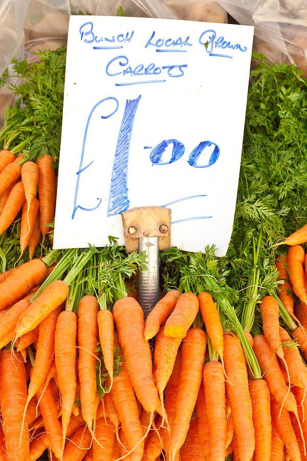 Carrots Photograph - Carrots by Tom Gowanlock