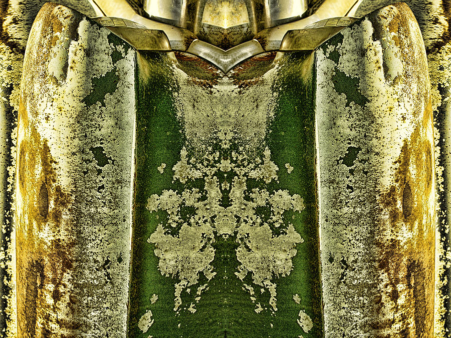 Abstract Photograph - Carschach008 by Tony Grider