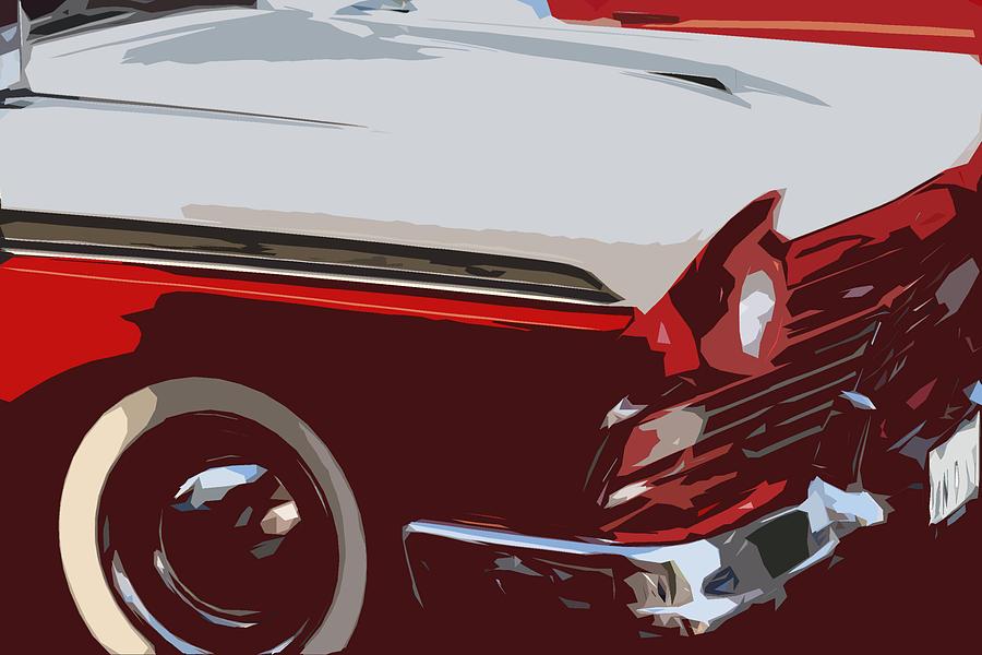 Car Digital Art - carToon by Elizabeth Alamillo