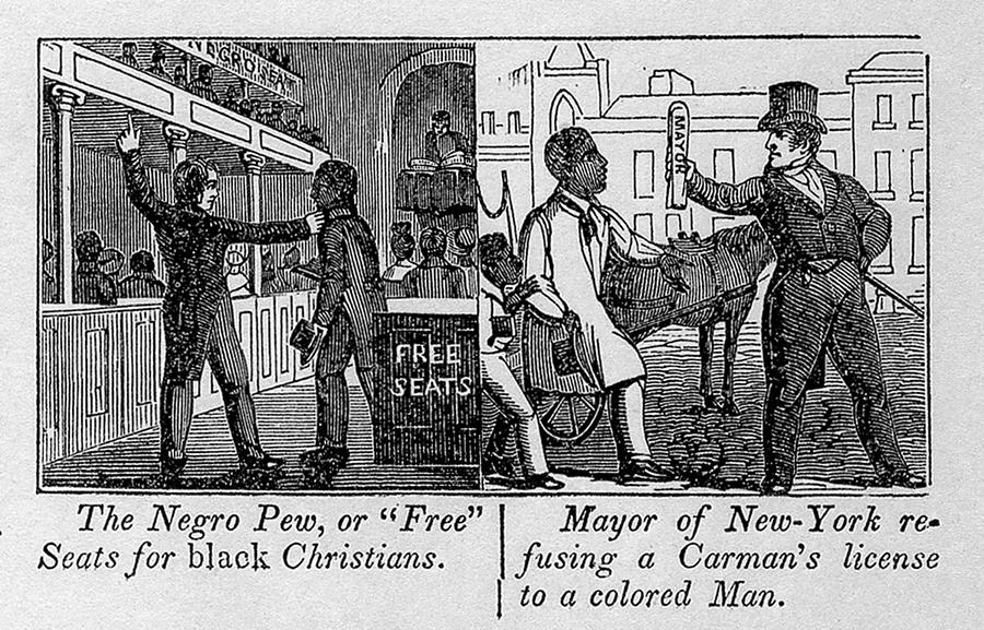 History Photograph - Cartoons Depicting The Racial by Everett