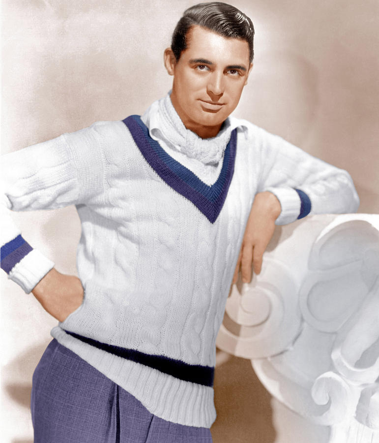 1930s Portraits Photograph - Cary Grant, Ca. 1934 by Everett