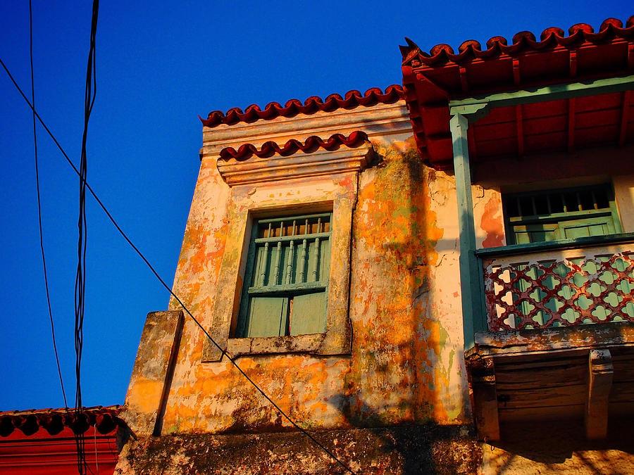 Cartagena Photograph - Casa De Las Brujas by Skip Hunt