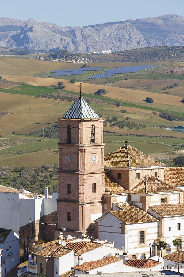 Vertical Photograph - Casabermeja, Spain. by Ken Welsh