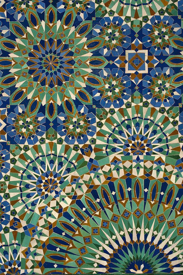 Colour Image Photograph - Casablanca, Morocco by Axiom Photographic