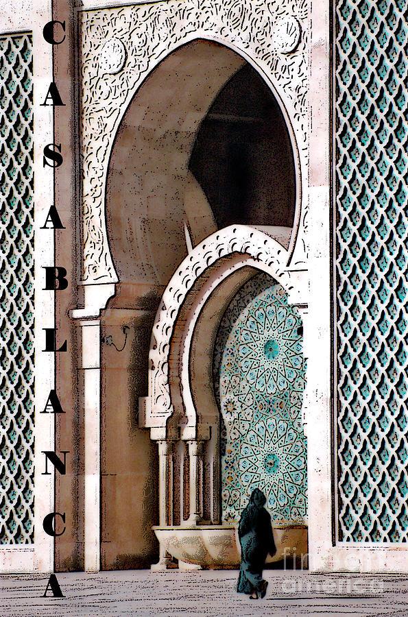 Casablanca Photograph - Casablanca Mosque by Linda  Parker