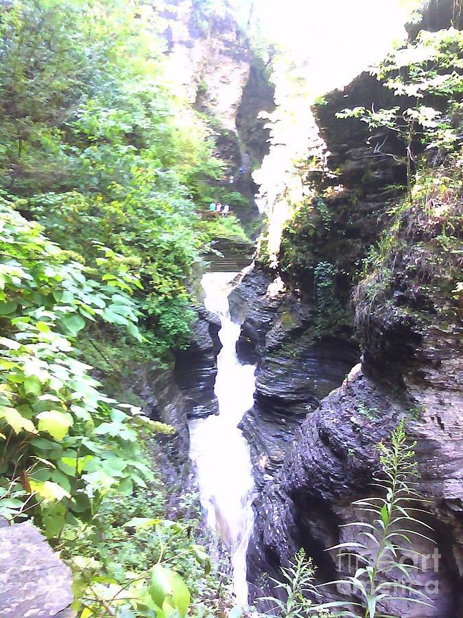 Waterfall Photograph - Cascade by Valerie Shaffer