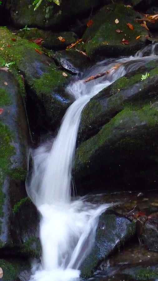 Waterfall Photograph - Cascading Angel Hair by Michael Carrothers