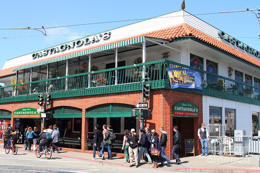 Castagnolas Restaurant Fishermans Wharf San Francisco California 7d14206