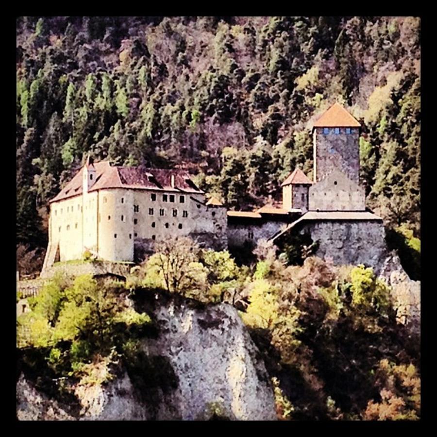 Castle Photograph - Castel Tirolo... Domina Merano E Tutta by Luisa Azzolini