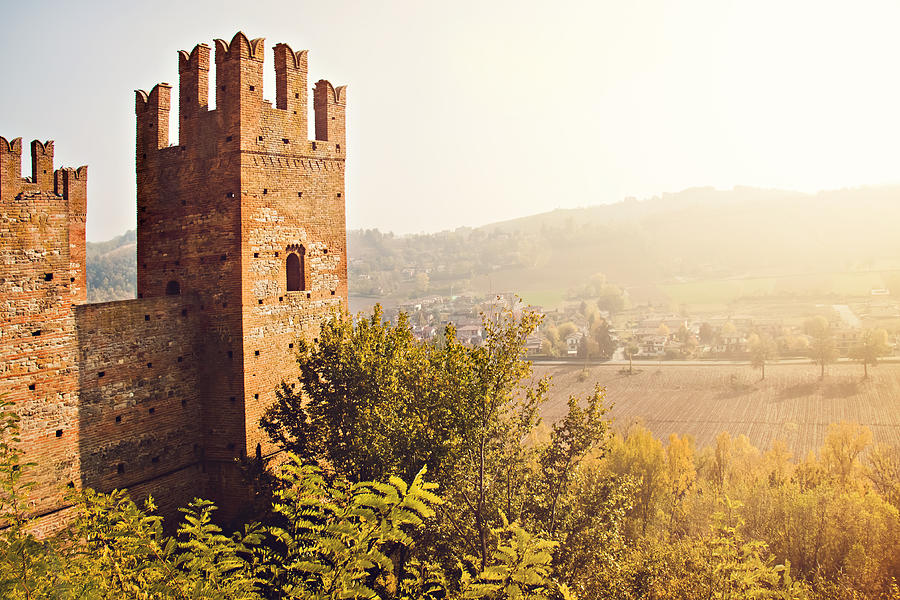Horizontal Photograph - Castellarquato by Just a click