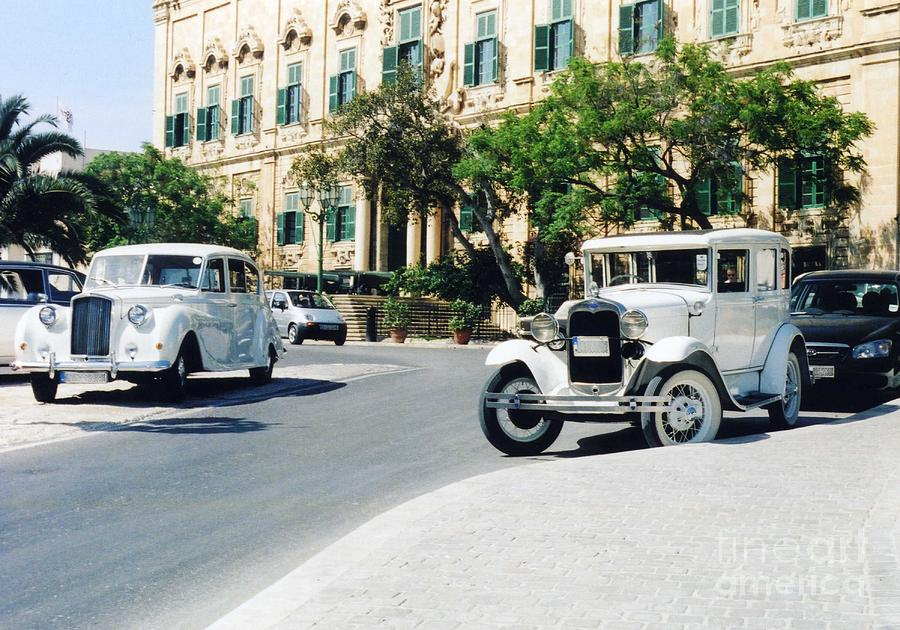 Valletta Photograph - Castille Square by John Chatterley