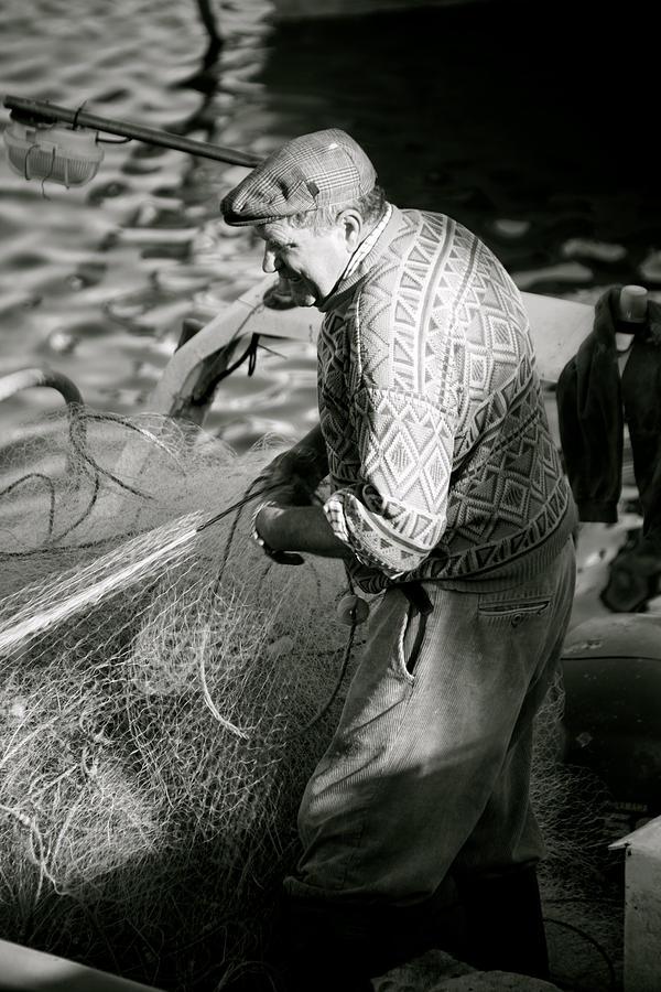 Photographer Photograph - Casting The Net by Jez C Self