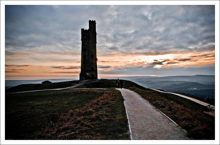 Castle Photograph - Castle Hill by Mark Britten