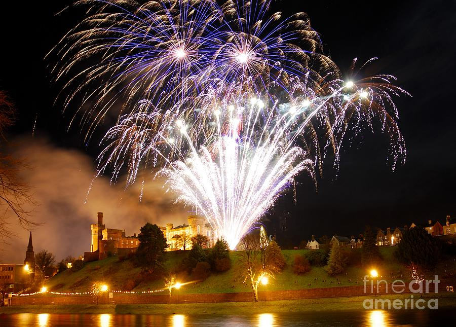 Inverness Photograph - Castle Illuminations by John Kelly