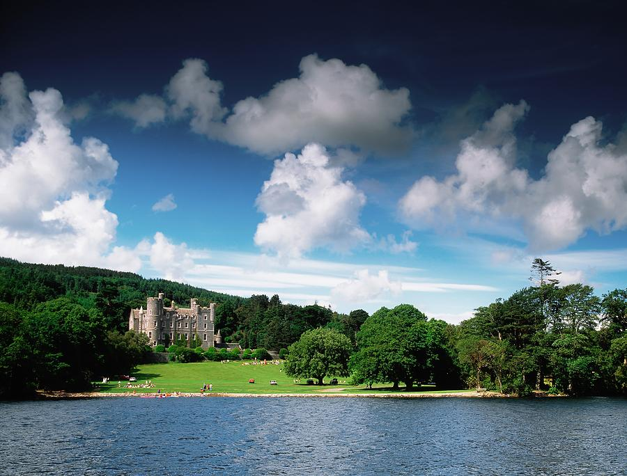 Field Photograph - Castlewellan Castle & Lake, Co Down by The Irish Image Collection