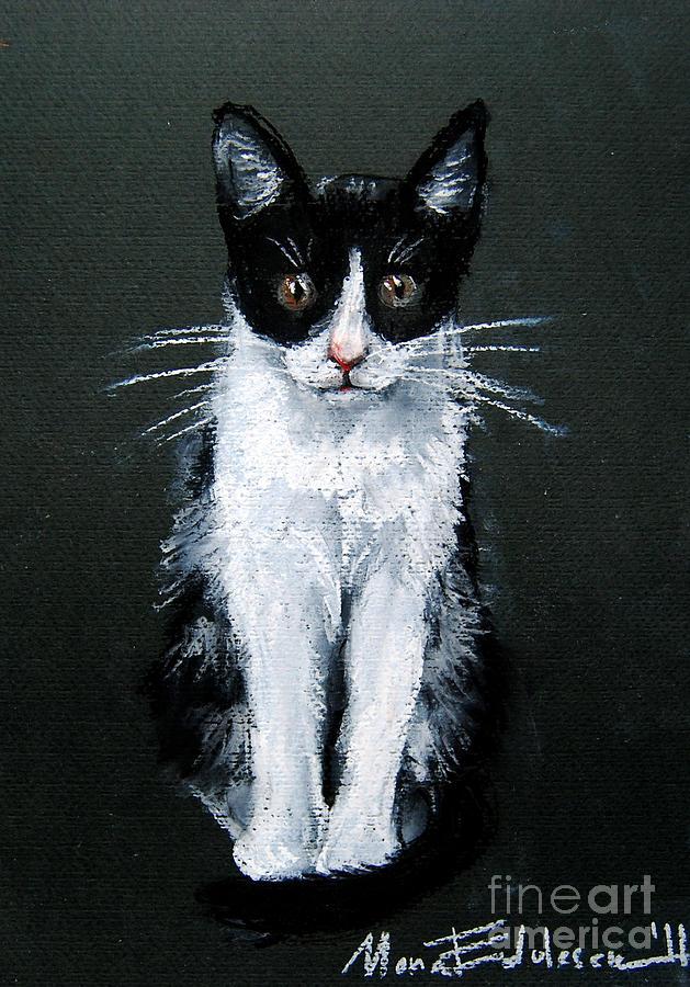 Cat Pastel - Cat I by Mona Edulesco