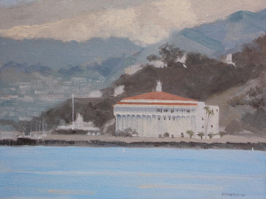 Island Living Painting - Catalina  Morning by Robert Rohrich