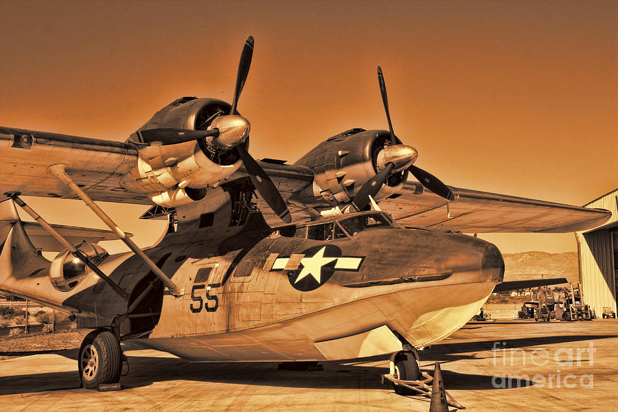 Usaaf Photograph - Catalina by Tommy Anderson