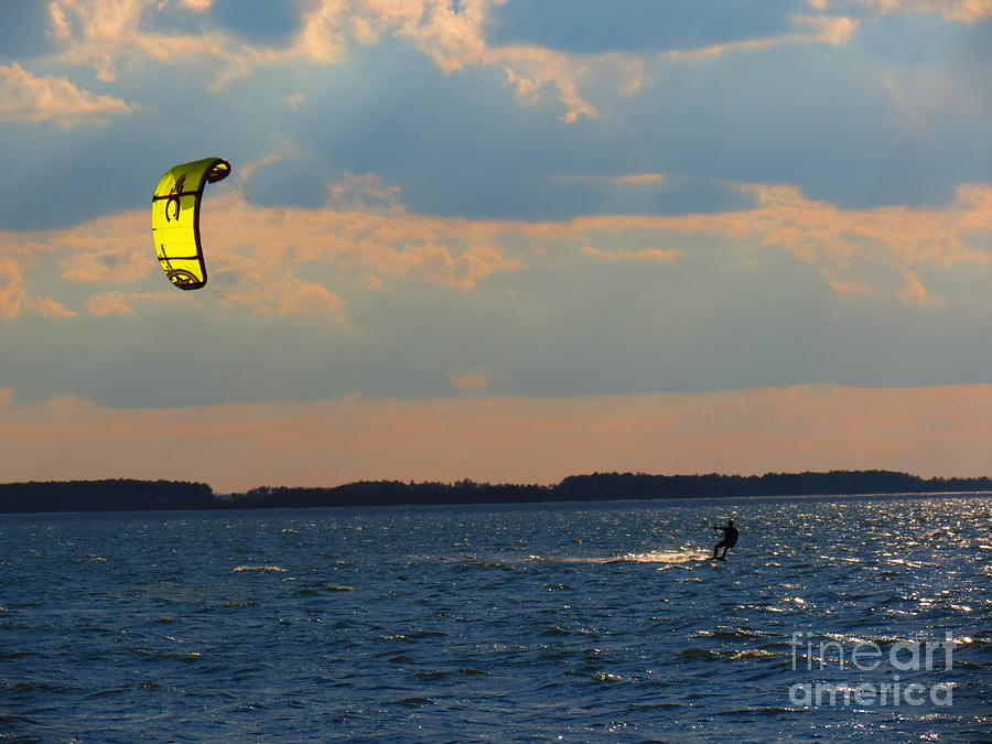 Kite Photograph - Catch The Wind by Rrrose Pix
