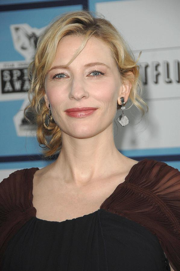 Independent''s Spirit Awards Photograph - Cate Blanchett At Arrivals by Everett