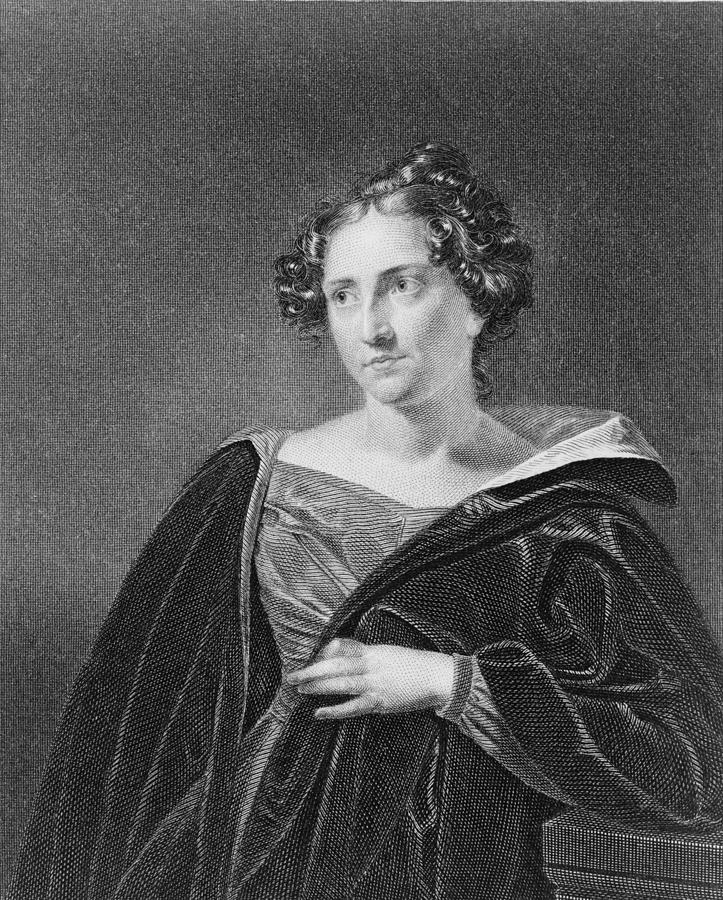 History Photograph - Catharine Maria Sedgwick 1789-1867 by Everett