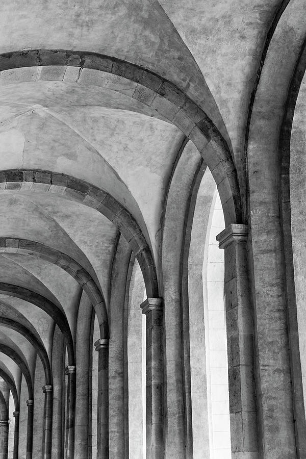 Vertical Photograph - Cathedral At Eberbach Monastery by Dg73