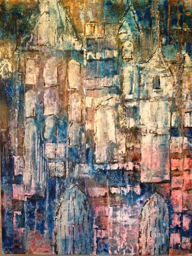 Original Painting - Cathedral by Kelli Perk