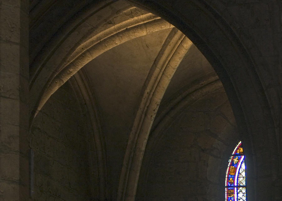 Chartres Photograph - Cathedral Of Chartes by Frits Selier