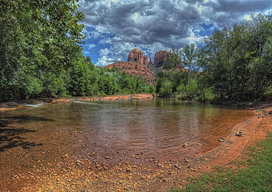 Sedona Arizona Photograph - Cathredral by Stephen Campbell
