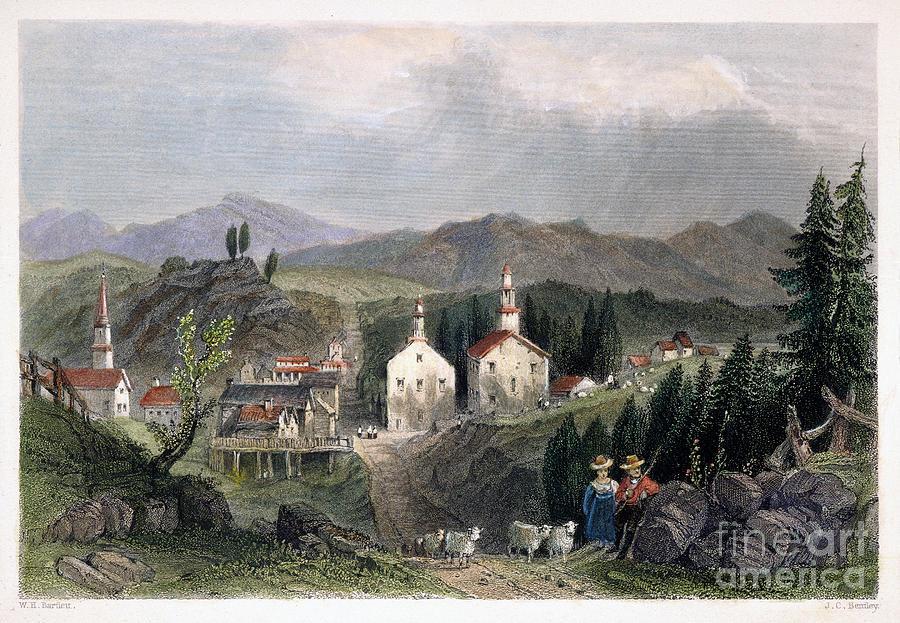 American Photograph - Catskill Village, 1839 by Granger