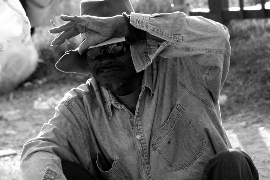 Homeless Photograph - Cautious Expectation by Elizabeth Hart