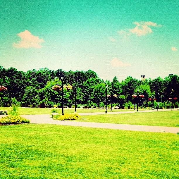 Blue Photograph - #ccu #coastal #coastalcarolina #conway by Katie Williams