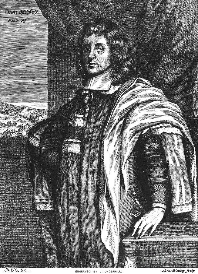 Cecilius Calvert 1605 1675 Photograph By Granger