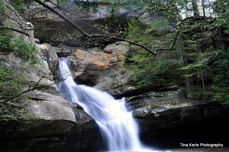 Cedar Falls Photograph by Tina Karle
