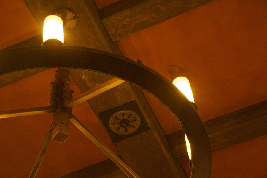 Ceiling Light Photograph by Dietrich Sauer