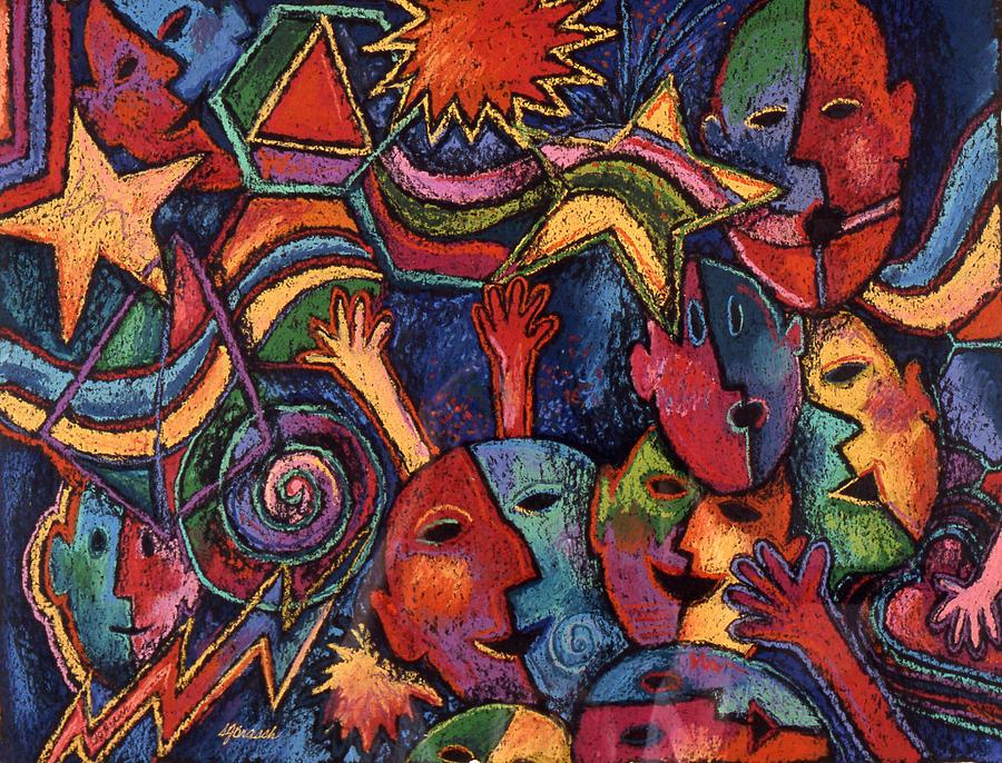 Celebration Painting - Celebration by Susan  Brasch